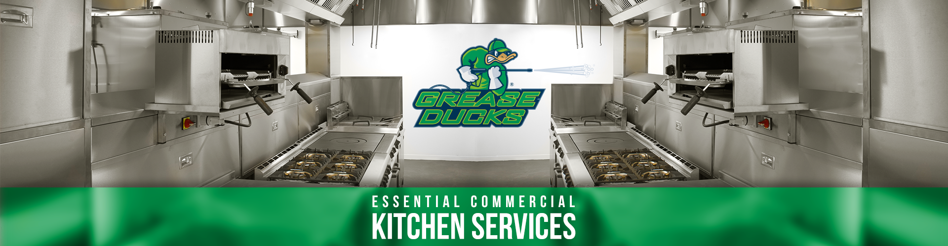 Grease Ducks Essential Commercial Kitchen Services